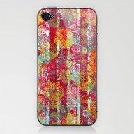 Joyful Markings iPhone & iPod Skin
