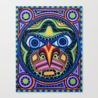 The Totem Canvas Print