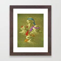 THE BROTHERHOOD Framed Art Print