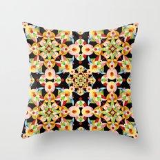 Kaleidoscope Fiesta Throw Pillow
