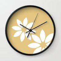 Flora2 Wall Clock