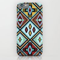 NATIVE AMERICAN PRINT iPhone 6 Slim Case