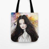 Ariane Watercolour  Tote Bag