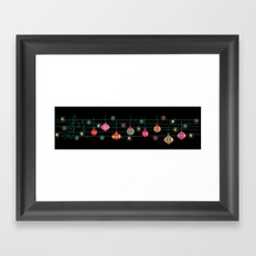 Santa claus is coming to town~~ Framed Art Print