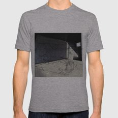 Habitat 3 Mens Fitted Tee Athletic Grey SMALL