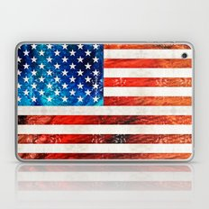 American Flag Art - Old … Laptop & iPad Skin