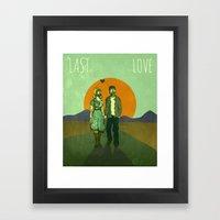 Last Love Framed Art Print