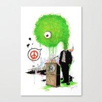 Mr. President Canvas Print