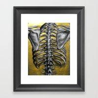 Gilded Cage Framed Art Print