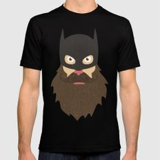Beardman Mens Fitted Tee Black SMALL