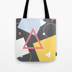 Geo Sprinkles (Black Sesame) Tote Bag