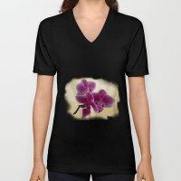 Orchids Unisex V-Neck