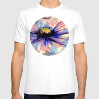 Flower Mens Fitted Tee White SMALL