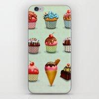 Muffins iPhone & iPod Skin