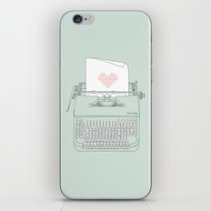 The Chemistry of Love iPhone & iPod Skin