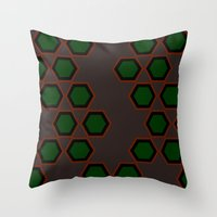 Moroccan Style Pink. Throw Pillow