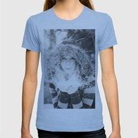 Make A Wish Womens Fitted Tee Athletic Blue SMALL