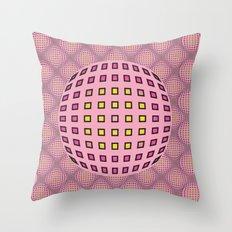 Pop pink Throw Pillow