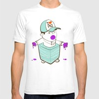 Napkinpants Mens Fitted Tee White SMALL