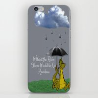 Raining Rainbow Dragon iPhone & iPod Skin