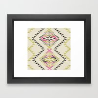 MARKER SOUTH Framed Art Print
