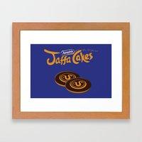 Apophis Jaffa Cakes Framed Art Print