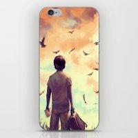 Enjoy The Silence iPhone & iPod Skin