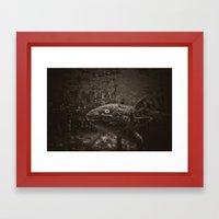 Axolotl Framed Art Print