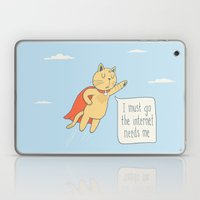 Internet Cat Laptop & iPad Skin