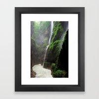 Partnachklamm Impression… Framed Art Print