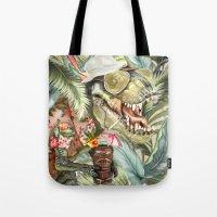 Hunter S. T-Rex Tote Bag