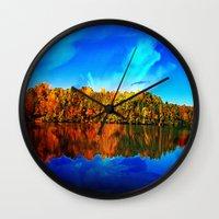 Falls' Lost Memories Wall Clock