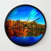 Falls' Lost Memories Wall Clock