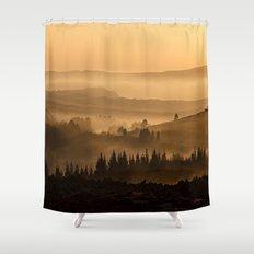 Land ESCAPE Shower Curtain