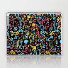 Galore (black version) Laptop & iPad Skin