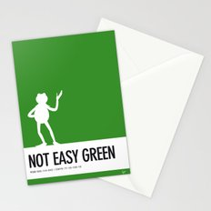 No25 My Minimal Color Code poster Kermit Stationery Cards