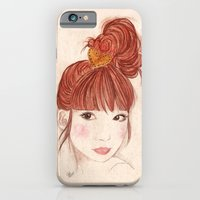 iPhone & iPod Case featuring Tokyo Girl by Jenna Wu