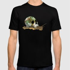 Slow Death Black SMALL Mens Fitted Tee