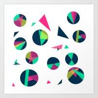 Circle Me Art Print