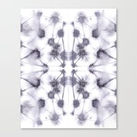 Mirror Dye Stone Canvas Print