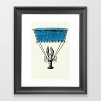 Lobster Trooper Framed Art Print