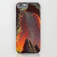 iPhone & iPod Case featuring Active Volcano in Guatemala by shari hochberg
