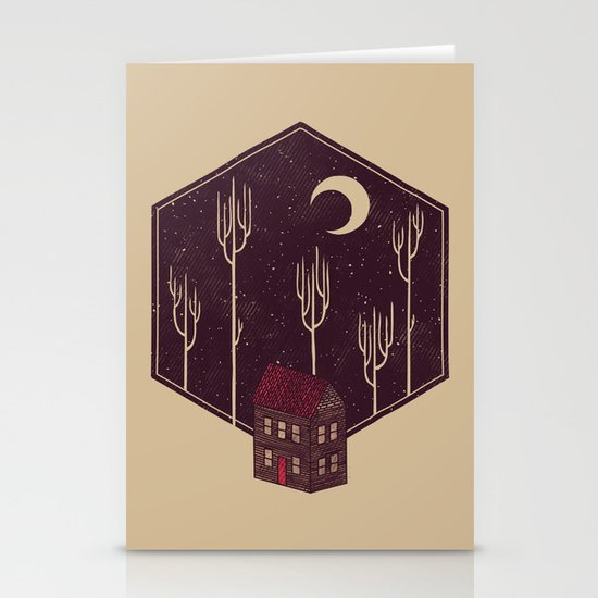 Still Night Stationery Card
