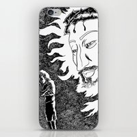 Someone Watching Over Me iPhone & iPod Skin