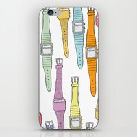 80s Digital Watches iPhone & iPod Skin