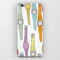 80s Digital Watches iPhone & iPod Skin