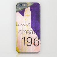 iPhone & iPod Case featuring Technicolor Dreams by L I S S I N K  C R E A T I V E