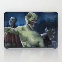 Midnight Stroll iPad Case