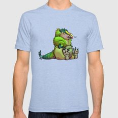 Blep. Mens Fitted Tee Tri-Blue SMALL