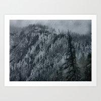 Mountain Slope Art Print